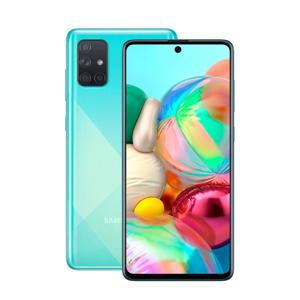 Galaxy A71 smartphone (blue)