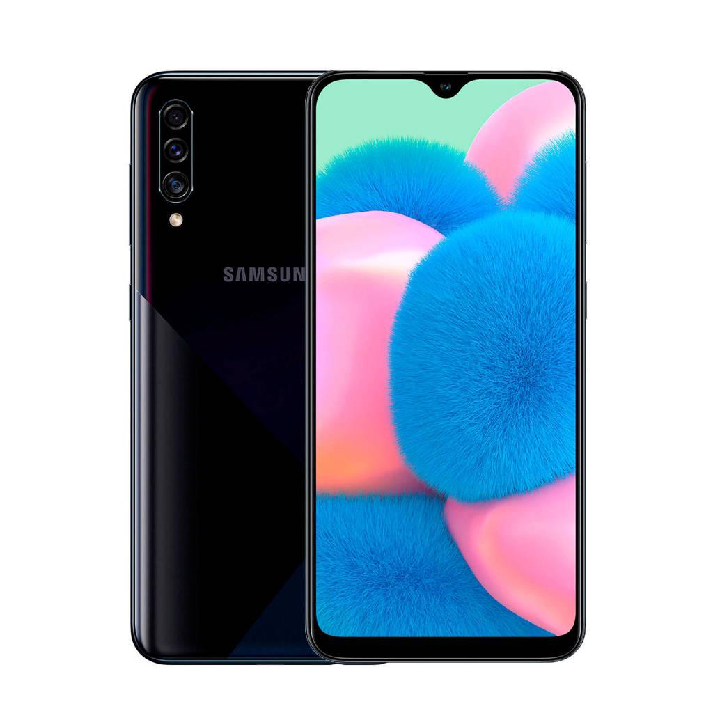 Samsung Galaxy A30S smartphone (zwart), N.v.t.