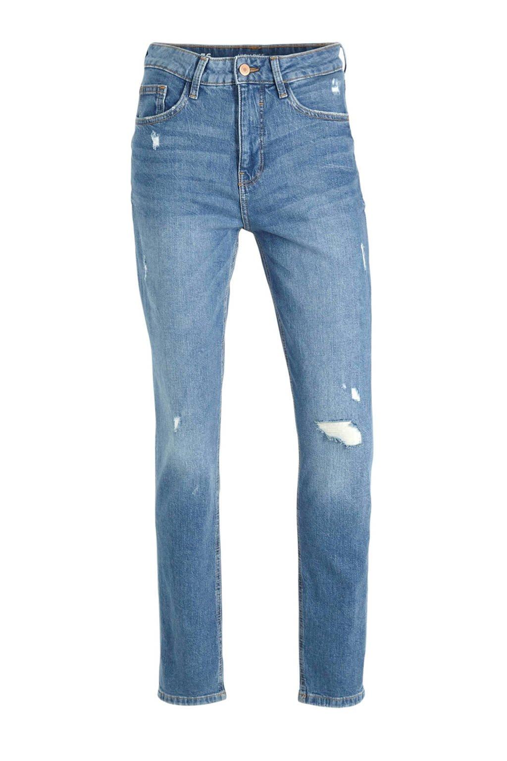 C&A Clockhouse high waist mom jeans blauw, Blauw