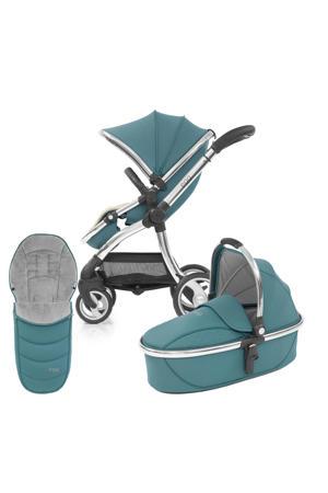 kinderwagen 2-in-1 met voetenzak Cool Mist - Mirror Chassis