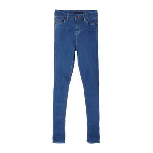LMTD high waist skinny jeans Pil stonewashed