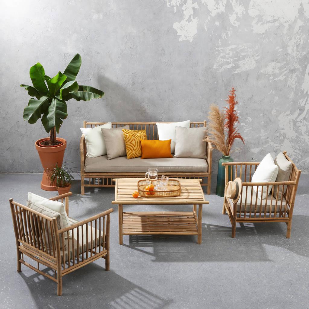 Exotan loungeset Bamboo, Bruin