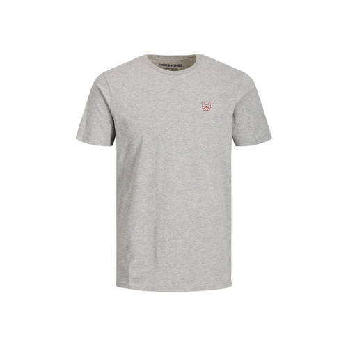 JACK & JONES ESSENTIALS T-shirt grijs