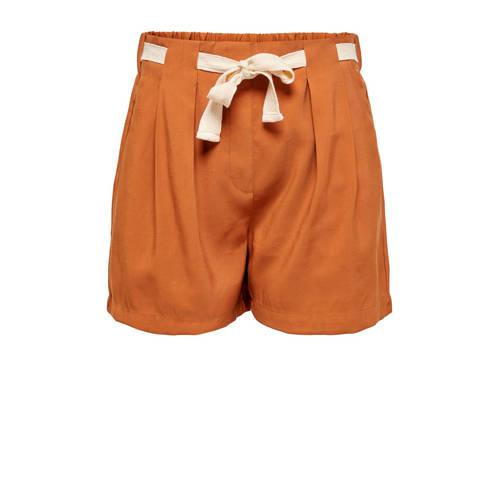 JACQUELINE DE YONG high waist loose fit short brui