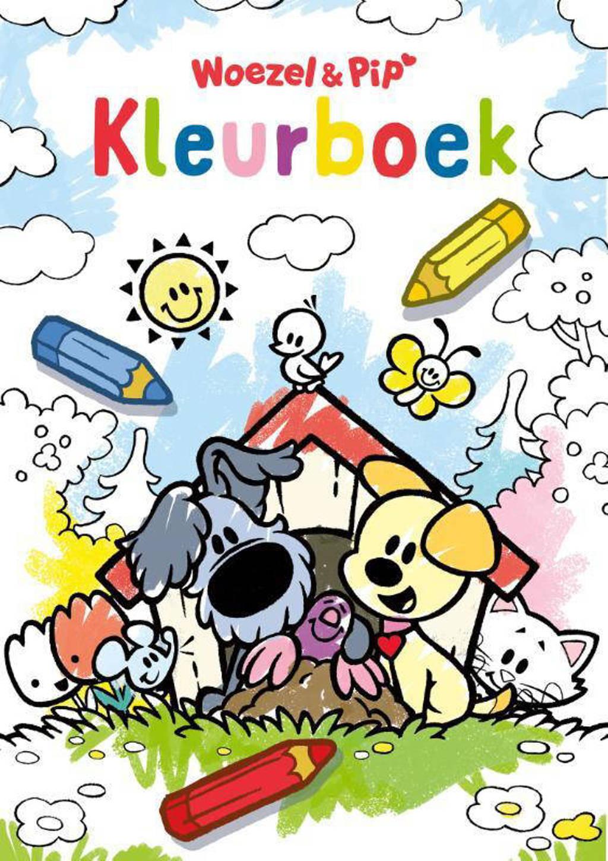 Kleurboek Woezel & Pip - Guusje Nederhorst en
