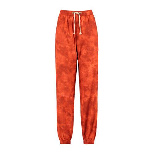 America Today tie-dye pyjamabroek oranje