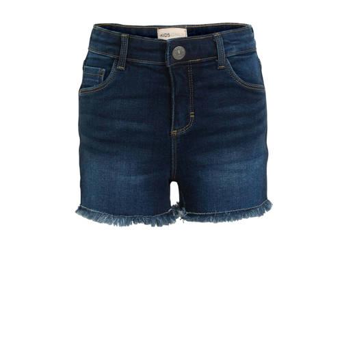 KIDS ONLY high waist jeans short Rachel donkerblau