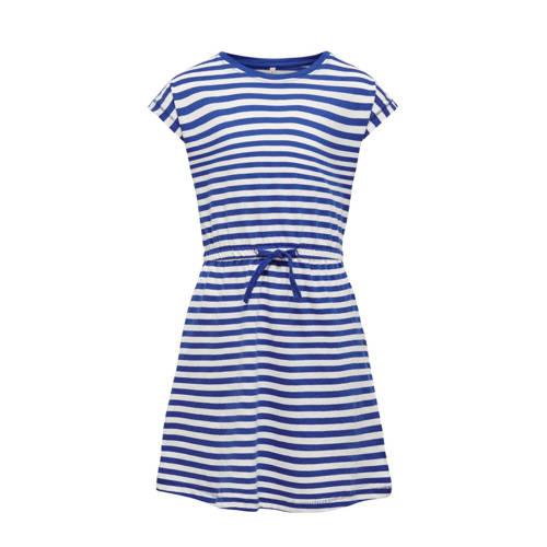 KIDS ONLY gestreepte A-lijn jurk May van biologisc