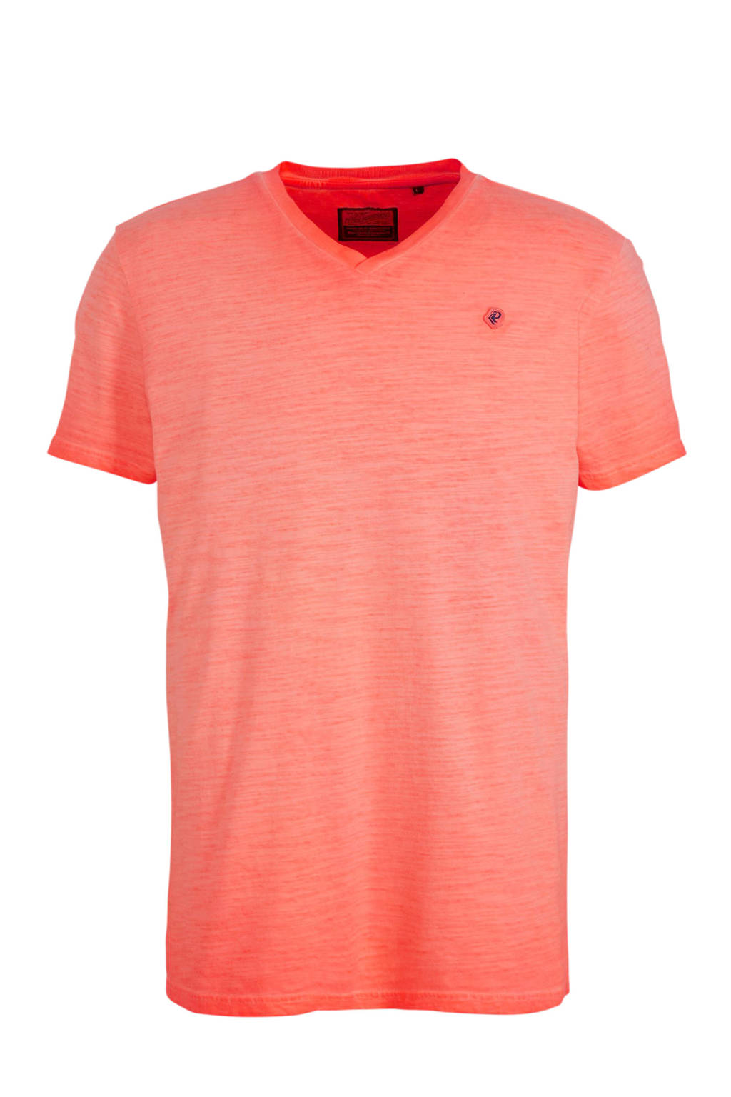 Petrol Industries T-shirt fiery coral, Fiery Coral