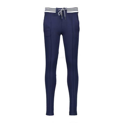NoBell??? low waist slim fit broek SeclerB donkerb