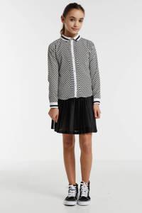 NoBell' mesh rok Nanace met logo zwart/wit, Zwart/wit