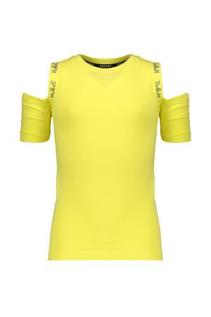 open shoulder top Keddy geel