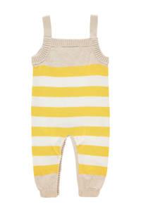 IMPS&ELFS baby gestreept boxpak Jamestown van biologisch katoen ecru/geel/wit, Ecru/geel/wit