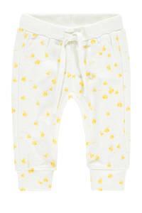 IMPS&ELFS baby broek Darling met biologisch katoen wit/geel, Wit/geel