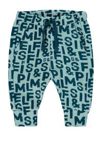 IMPS&ELFS baby broek Pella met biologisch katoen mintgroen/donkerblauw, Mintgroen/donkerblauw