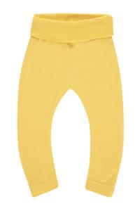 IMPS&ELFS baby broek Riversdal met biologisch katoen geel, Geel