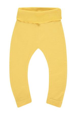 baby broek Riversdal met biologisch katoen geel