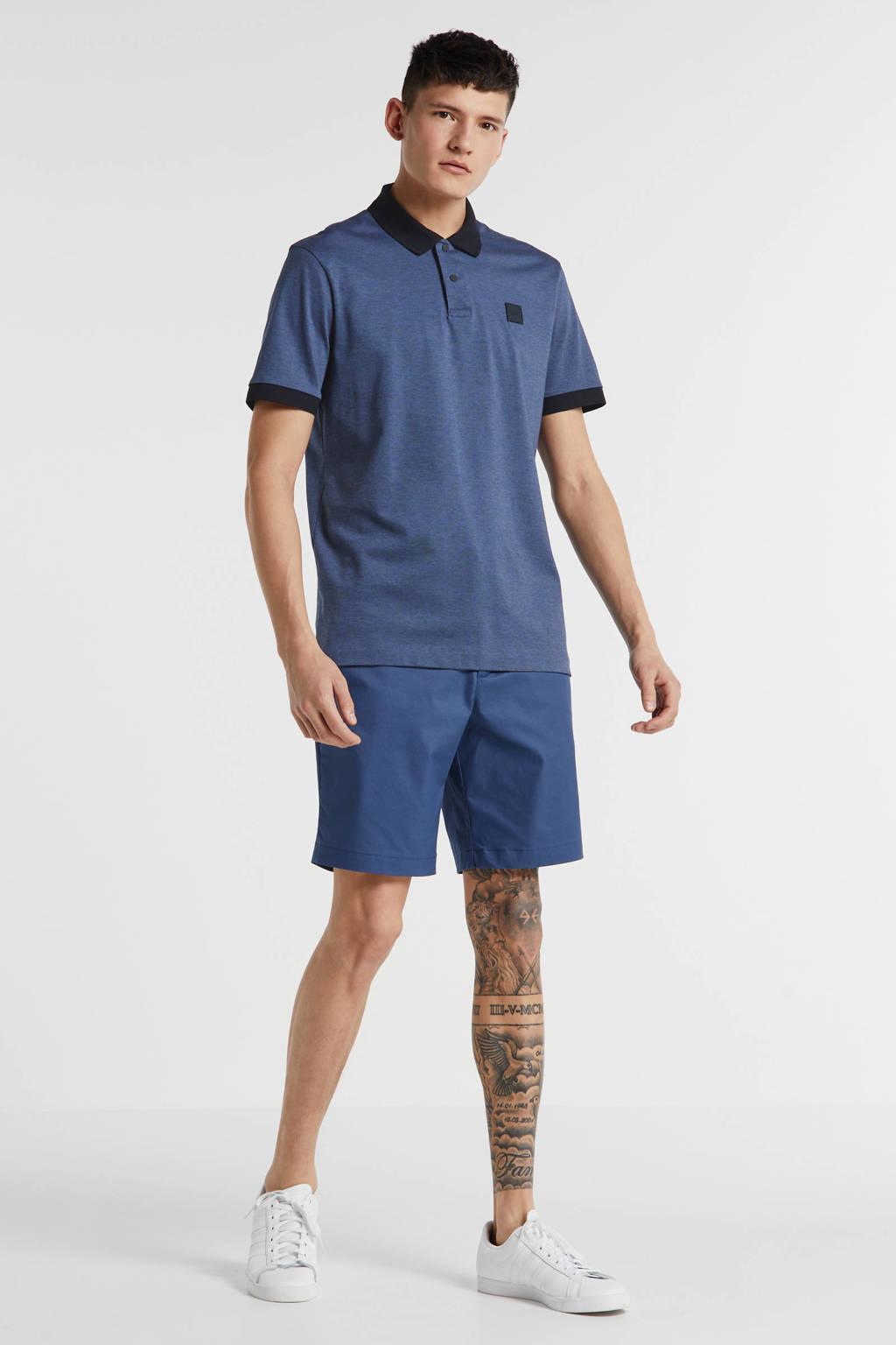 BOSS Menswear regular fit polo donkerblauw, Donkerblauw