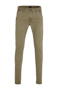 PME Legend slim fit chino kaki, Kaki
