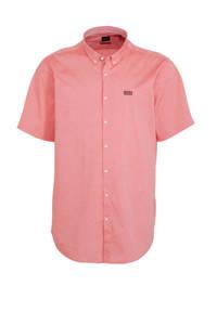 BOSS Athleisure Big & Tall regular fit overhemd roze, Roze