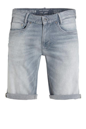 regular fit jeans short Skymaster grijs