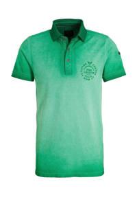 PME Legend regular fit polo groen, Groen