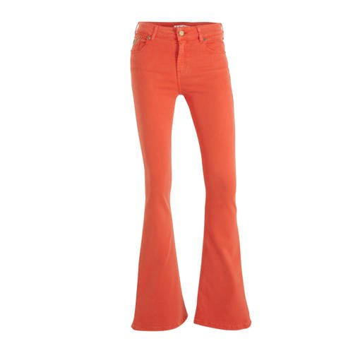 Lois flared jeans rood