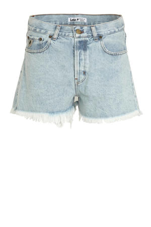 jeans short Sandra lichtblauw