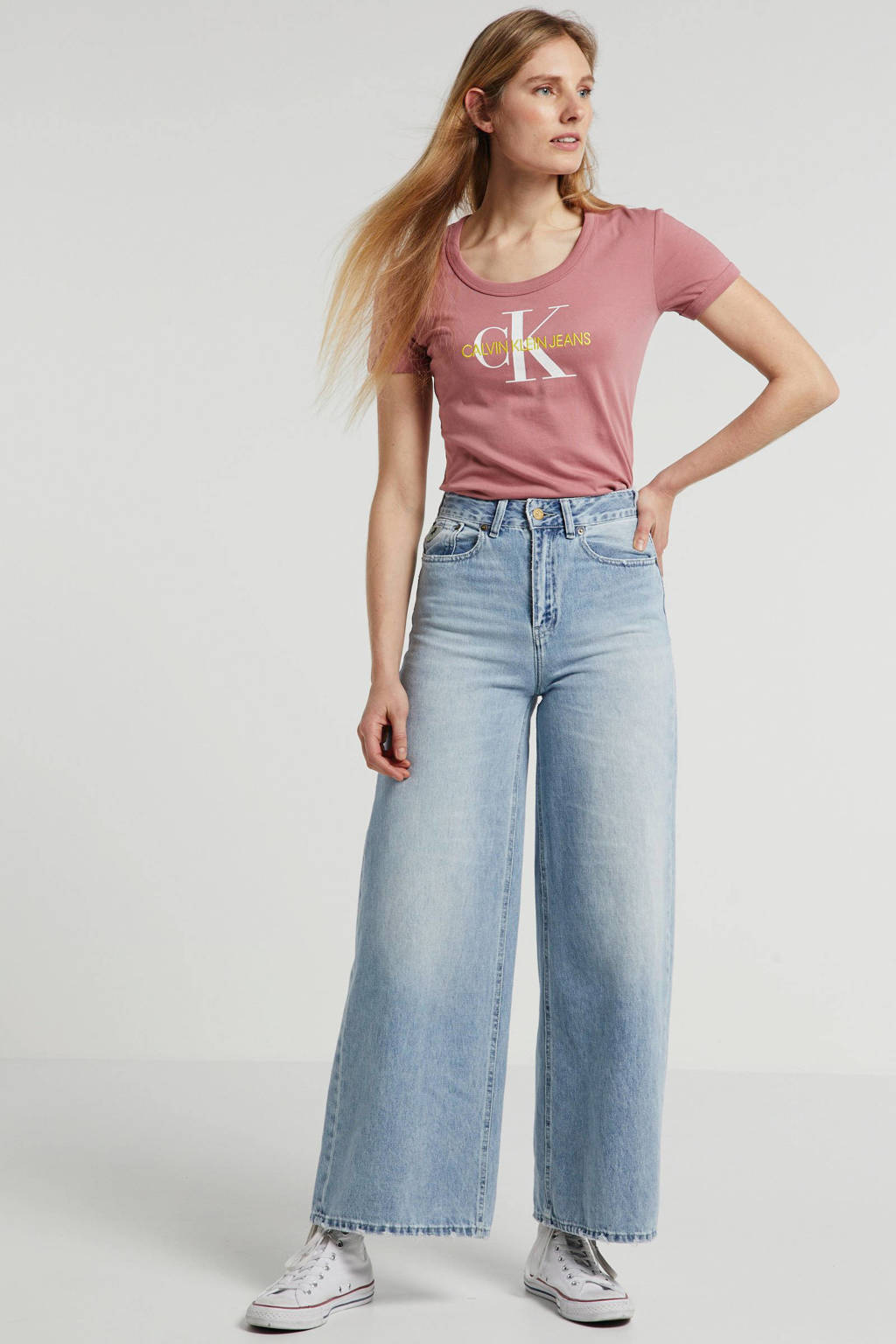 Lois loose fit jeans blauw, Blauw