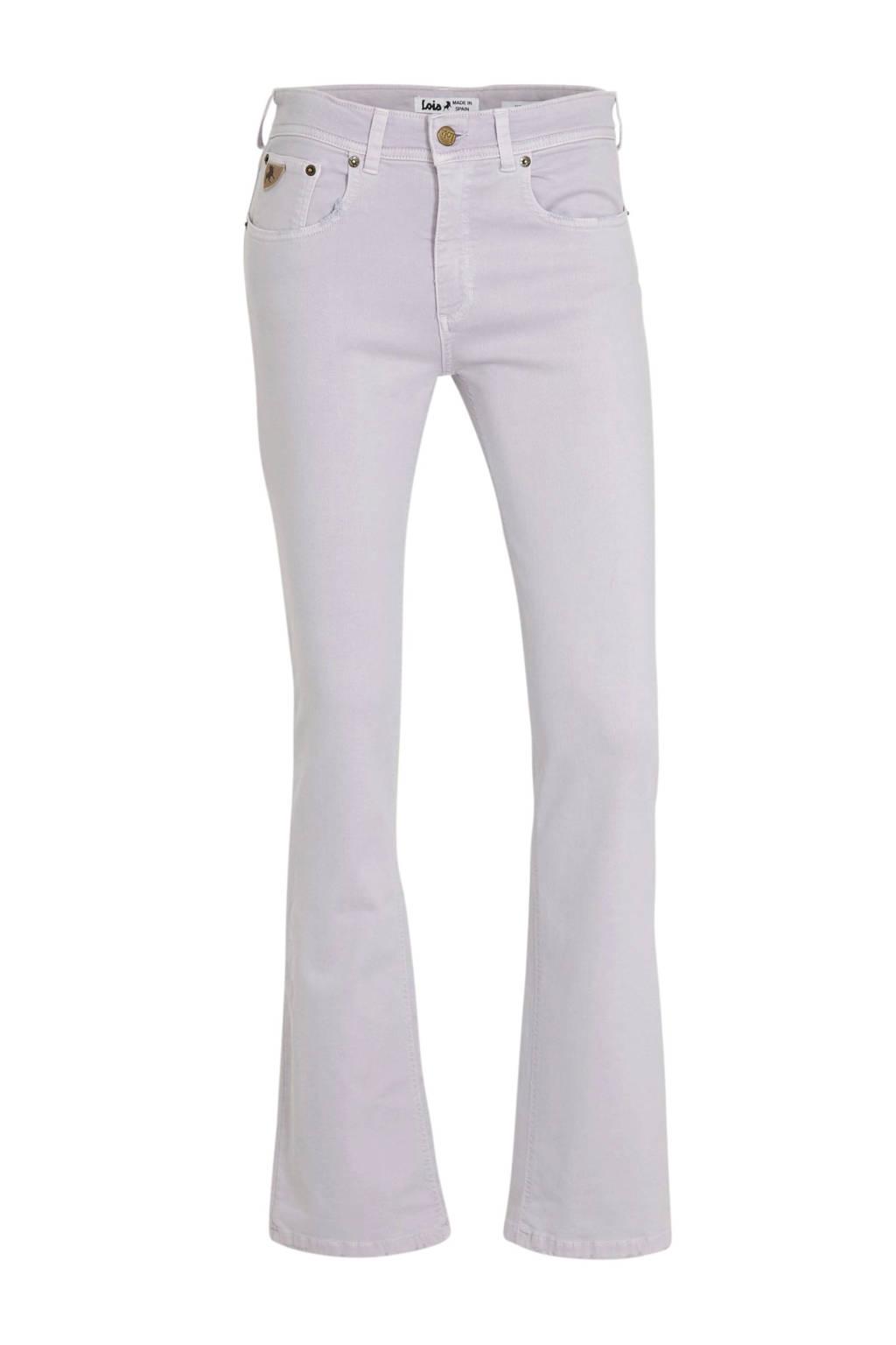 Lois bootcut jeans Melina lila, Lila