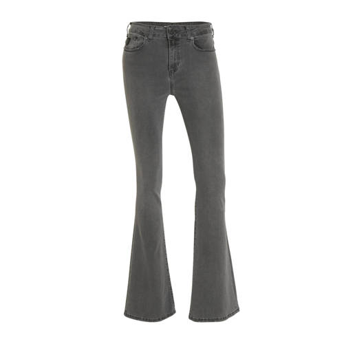 Lois flared jeans grijs