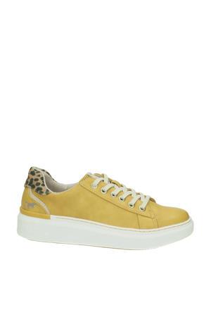 sneakers geel/panterprint