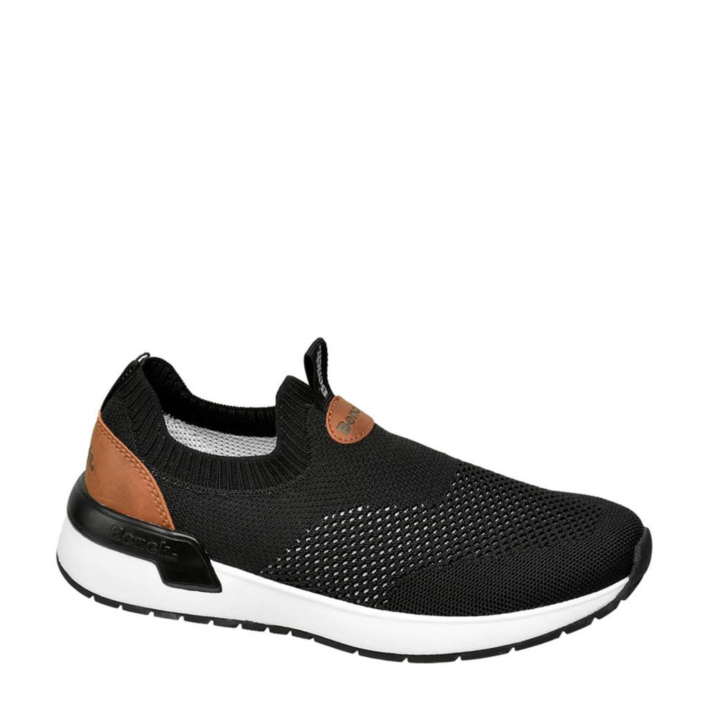 Bench   sneakers zwart, Zwart