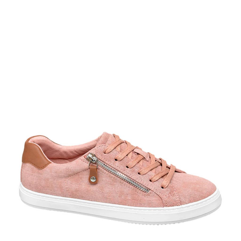 Graceland   sneakers roze, Roze/bruin