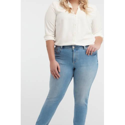 MS Mode regular fit jeans lichtblauw