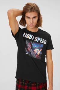 C&A Clockhouse T-shirt met printopdruk classicblack, ClassicBlack