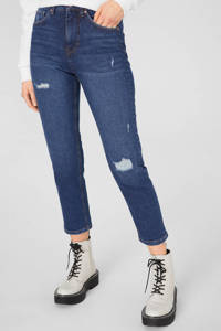 C&A Clockhouse straight fit jeans donkerblauw, Donkerblauw