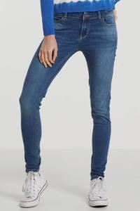 Il Dolce high waist skinny jeans Jakarta blauw, Blauw