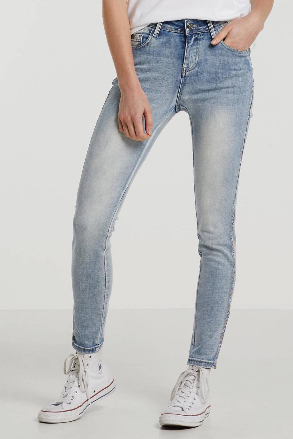 Il Dolce skinny jeans Ruby lichtblauw, Light Blue