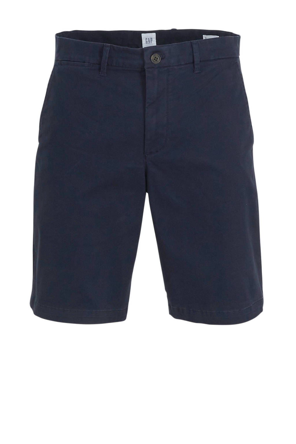 GAP regular fit bermuda donkerblauw, Donkerblauw