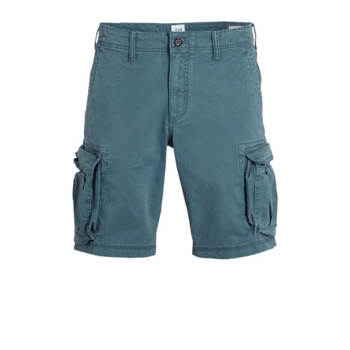 GAP regular fit cargo bermuda grijsblauw