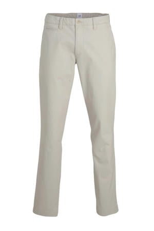 slim fit chino antiek cremewit
