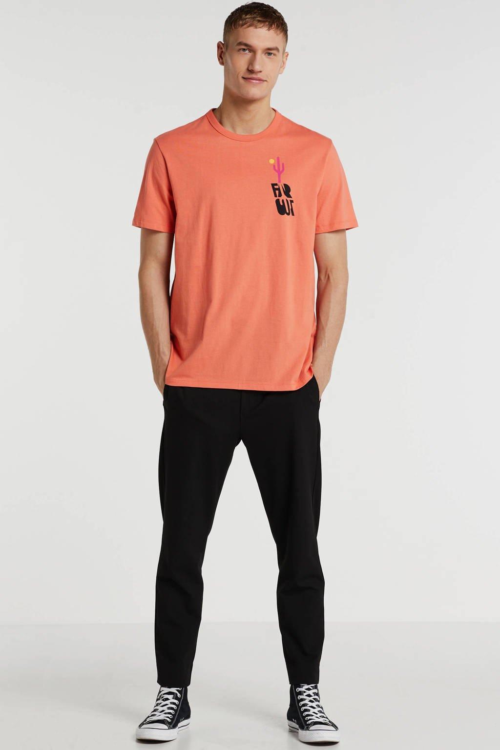 GAP T-shirt met printopdruk oranje, Oranje