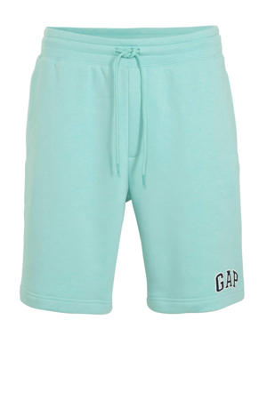 regular fit sweatshort mintgroen