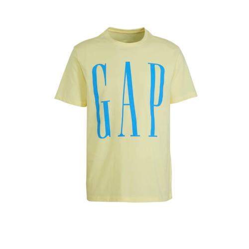 GAP T-shirt met printopdruk ecru