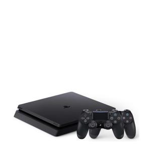 Sony Slim 1TB + 2 controllers zwart