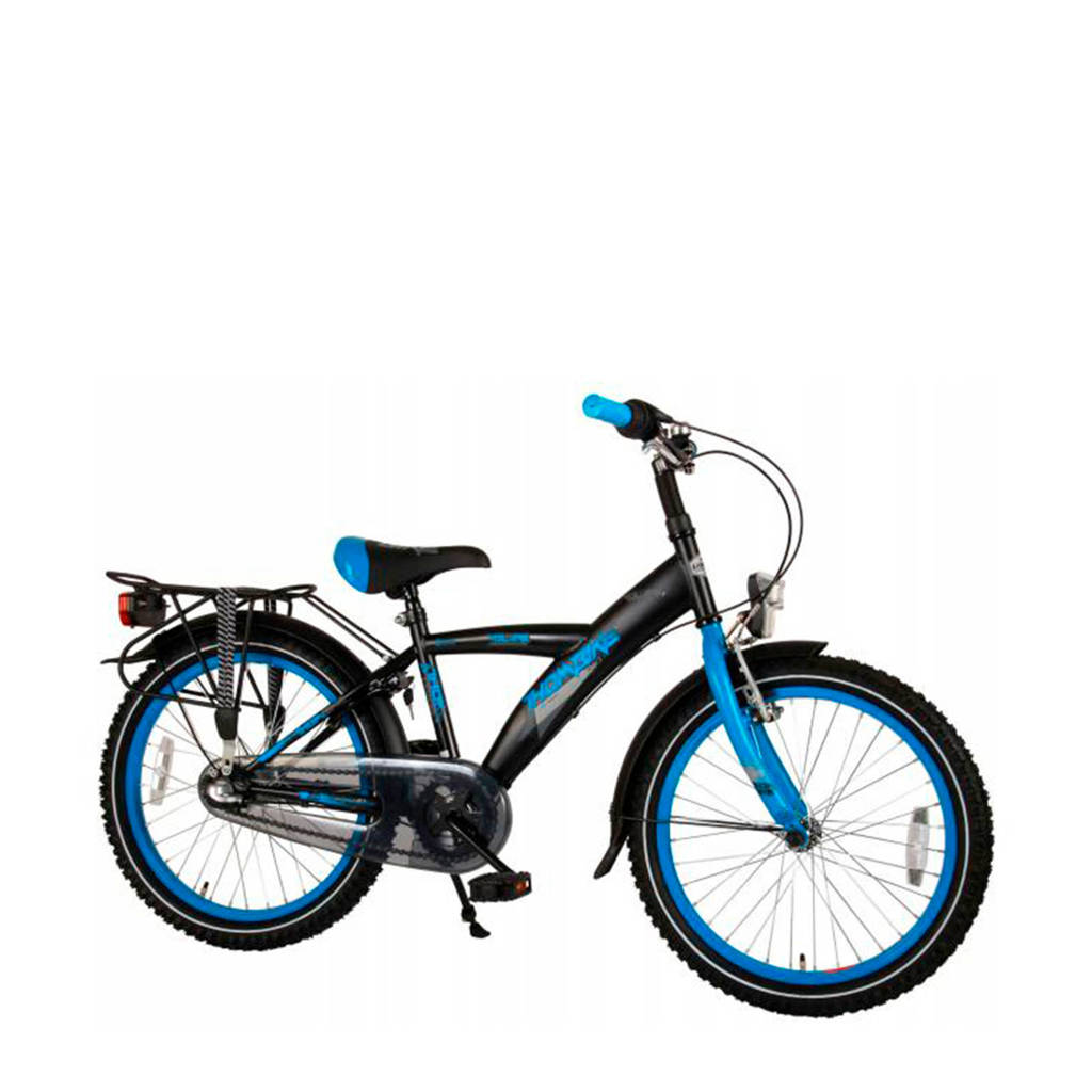 Volare  Thombike City 20 inch Shimano N3, Zwart/blauw