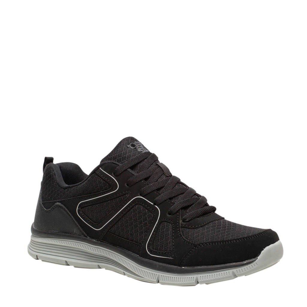 Scapino Osaga Pro   fitness schoenen zwart, Zwart/wit