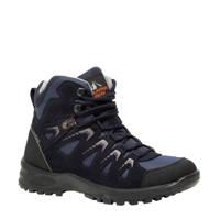 Scapino Mountain Peak   leren wandelschoenen blauw, Blauw/paars