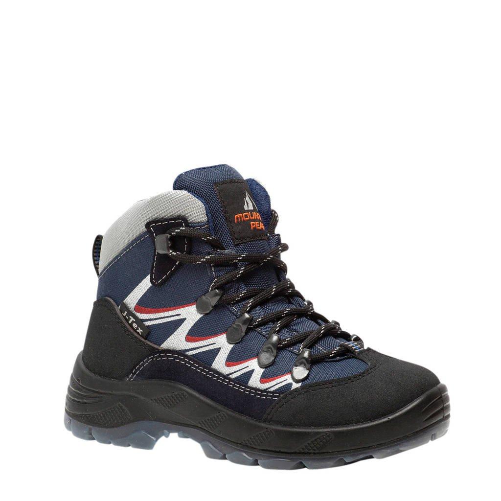 Scapino Mountain Peak   wandelschoenen blauw/rood jongens, Blauw/rood
